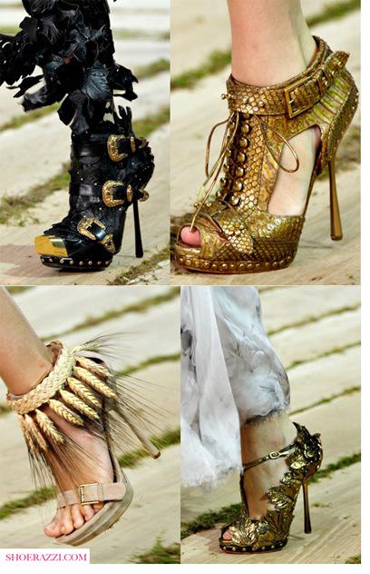 Александър Маккуин 2011 Пролет Дизайнерски Обувки Висок Ток