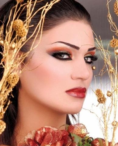 много привлекателен и красив арабски грим (8)