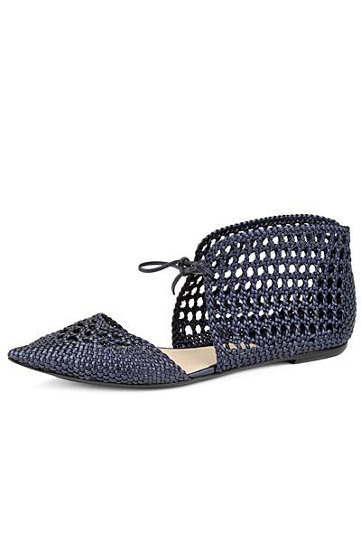 Giorgio Armani за Пролет-Лято 2011 обувки плетени