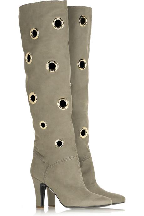 Стела Маккартни украсени с дупки ботуши