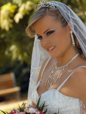 идеи за сватбени грим
