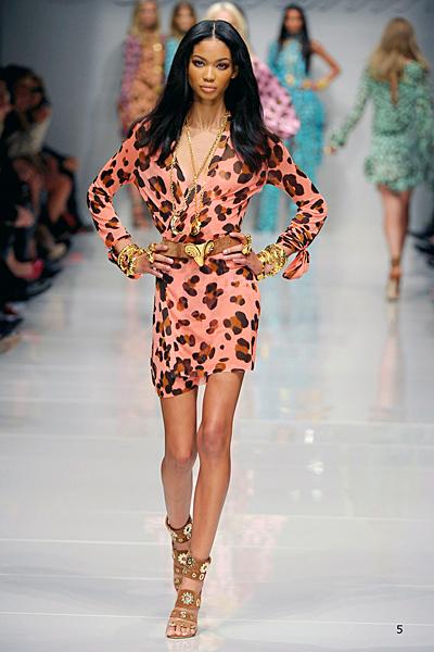 Blumarine къса рокля цвят праскова
