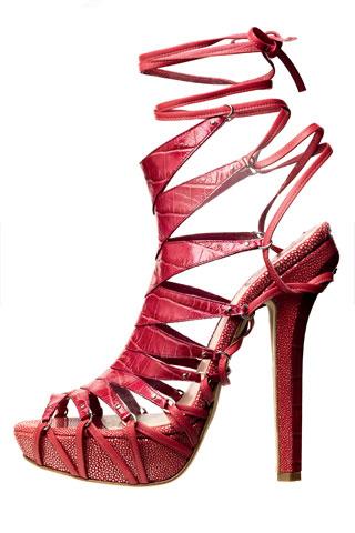Диор телешка кожа обувки на платформа