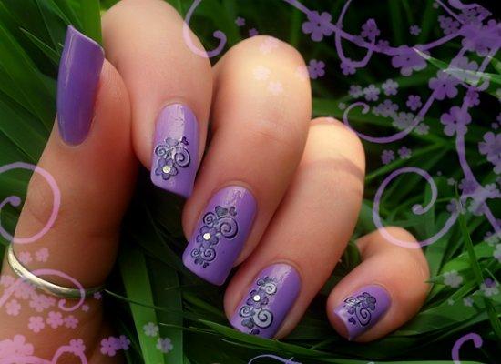 сладко лилаво