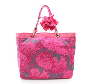 Lanvin чанта с принт цветя