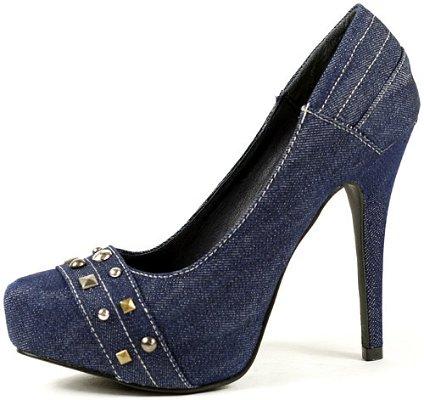 Обувки дънкови от Жан