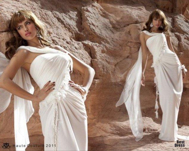 Сватбена рокля воал dany mizrachi 2011