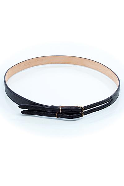 Balenciaga черен тънък колан