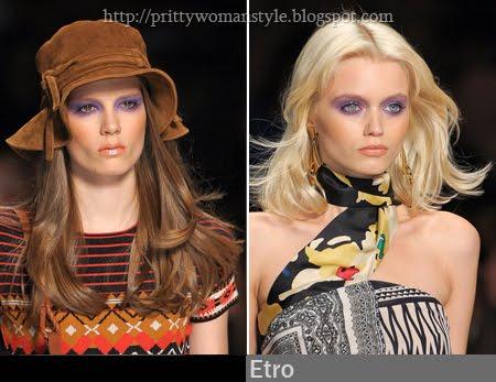 Прически с къдрици и вълнисти коси 2011