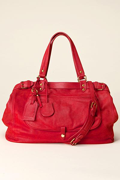 Ярко червена чанта кожа Vanessa Bruno Есен-Зима 2011