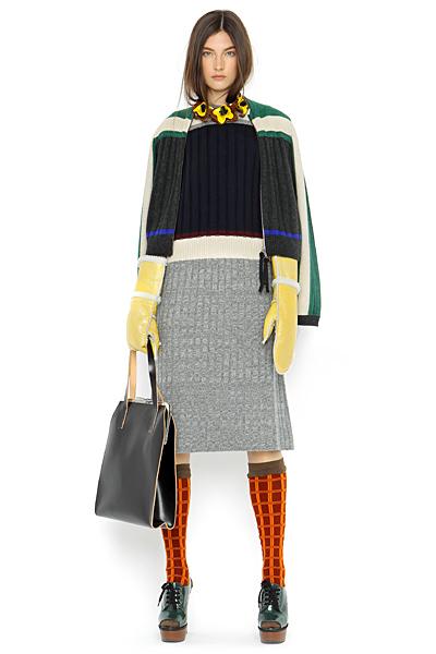 Плетена рокля  Есен-Зима на Marni за 2011