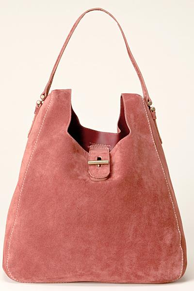Розова чанта велур голяма Vanessa Bruno Есен-Зима 2011