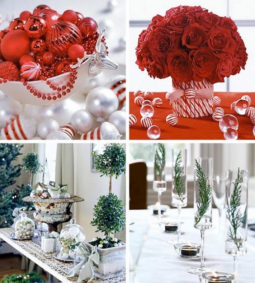 Коледна украса на масата 2