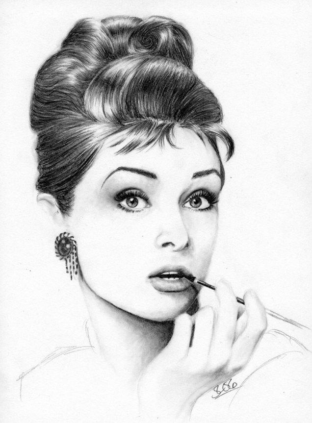 класически кок на одри хепбърн как да си направим