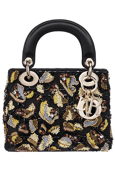 Знакова чанта Dior с апликации и мъниста Есен 2011