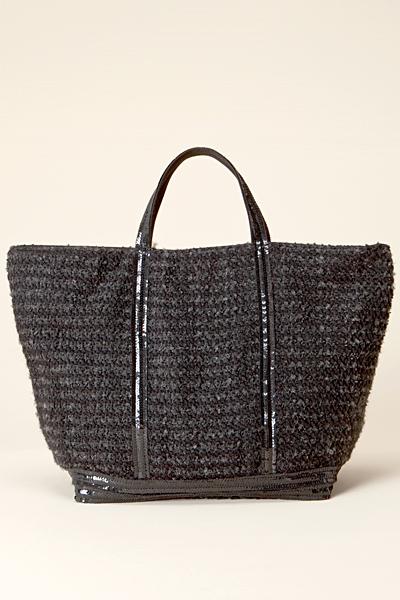 Плетена черна чанта Vanessa Bruno Есен-Зима 2011