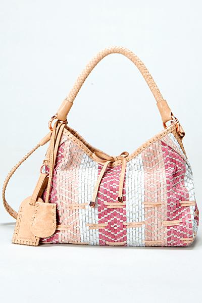 Чанта за рамо розово и бяло Vanessa Bruno Есен-Зима 2011