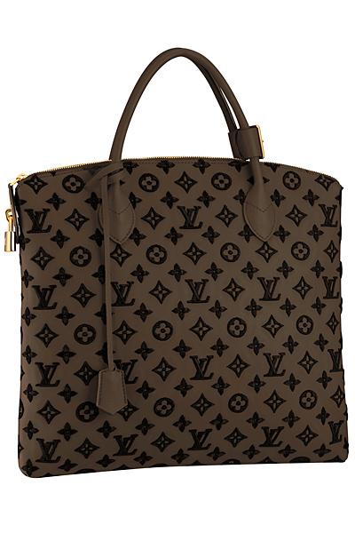 Голяма бежова чанта Louis Vuitton Есен-Зима 2011
