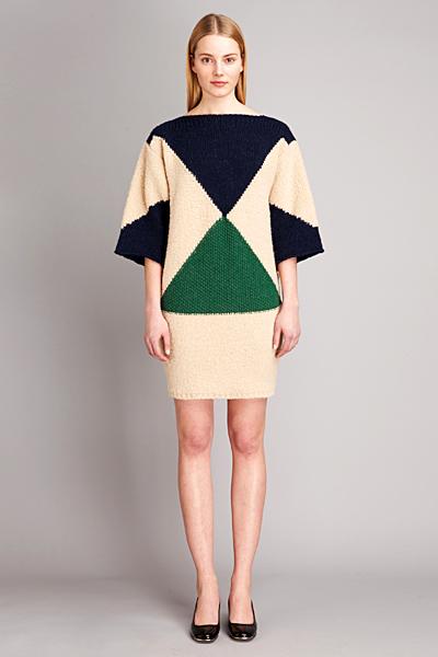 Плетена рокля с фигури Есенна колекция 2011 Stella McCartney