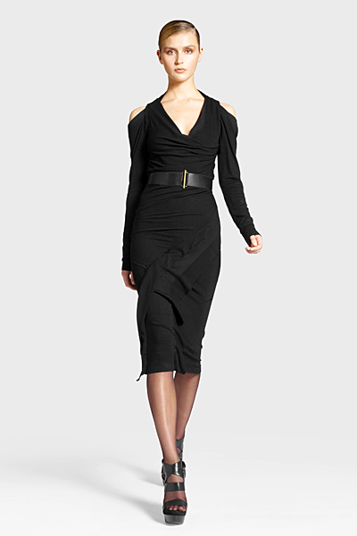 Елегантна рокля с колан на кръста Предесенна колекция Icons от Diane von Furstenberg 2011