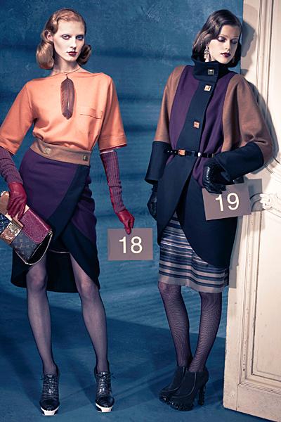 Елегантни рокли Предесенна колекция на louis vuitton за 2011
