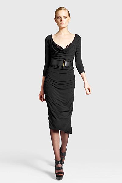 Права рокля с падащо деколте Предесенна колекция Icons от Diane von Furstenberg 2011