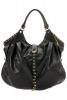 Moschino Есен-Зима 2011 голяма черна кожена чанта