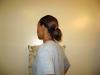 Как се прави кок на средна дължина коса 1. Направете конска опашка.