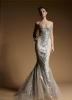 Колекция сребърна рокля zuhair murad 2012