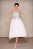 Сватбена рокля с пола от пера нестандартна дължина  Oscar de la Renta Есен 2011