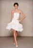 Къса сватбена рокля тип русалка  Oscar de la Renta Есен 2011