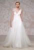 Сватбена рокля с бие от дантела Jenny Packham Есен 2011