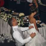 Младоженците Петко и Яна