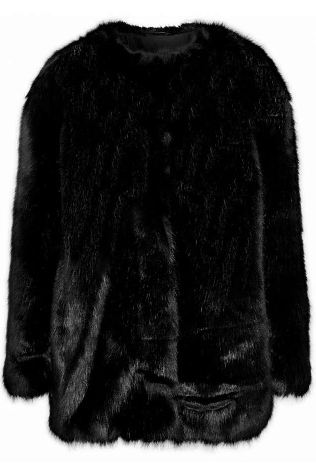 Karl Lagerfeld палто изкуствена кожа