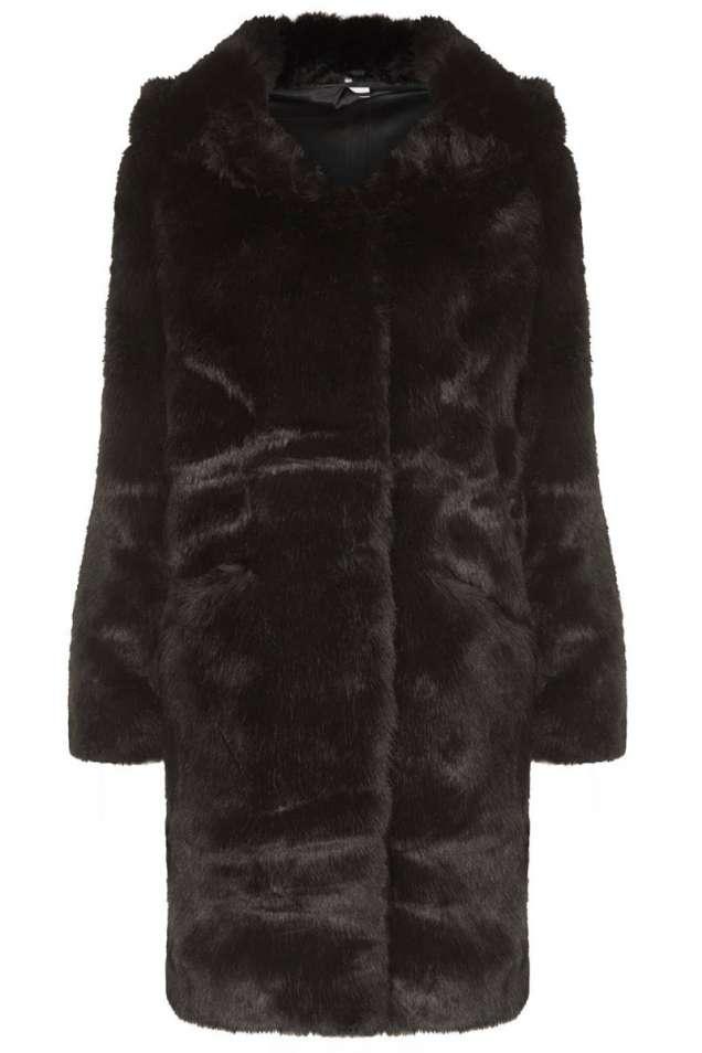 Палто от изкуствена кожа
