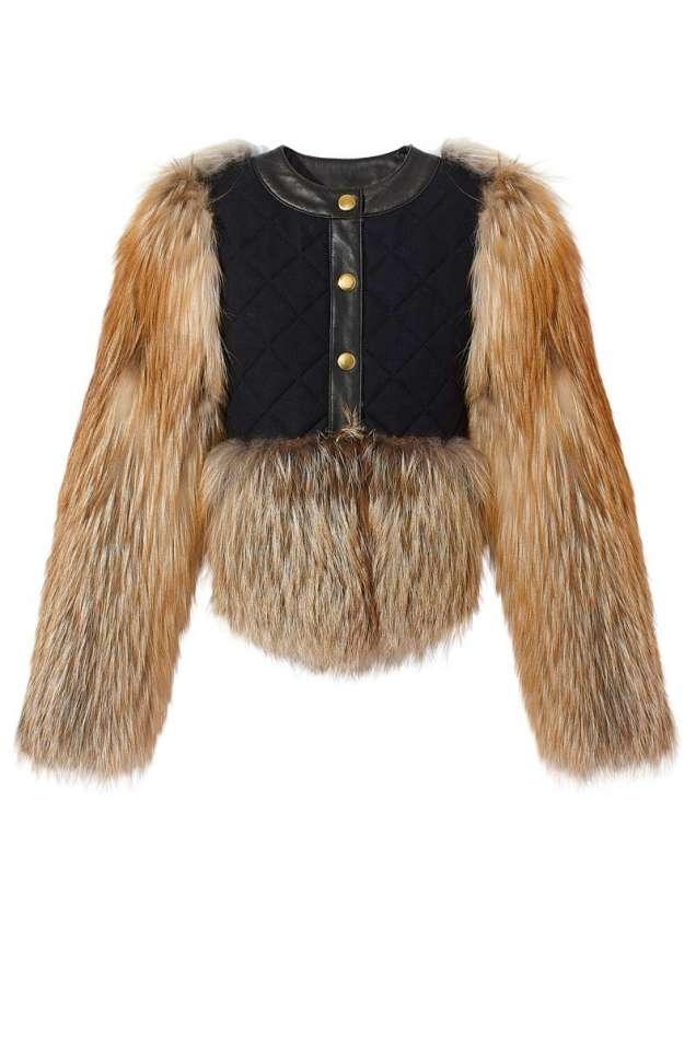 Кожено палто есен 2013
