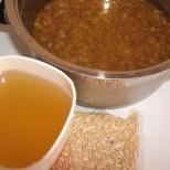 Овесен чай за пречистване от токсини