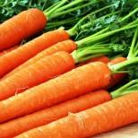 моркови Във всичко трябва да има мярка. С морковите е същата ситуация: те не бива да се ядат много, защото сокът от моркови може да доведе до сънливост, летаргия, главоболие.