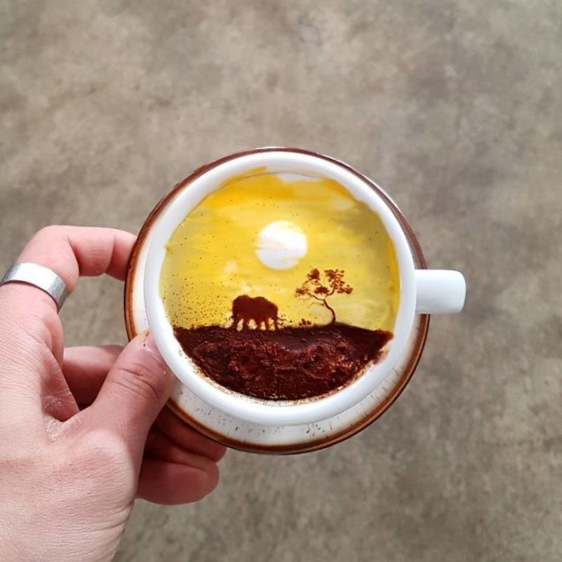 кафе приказка