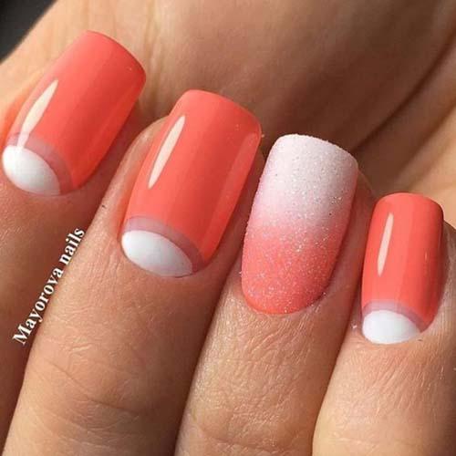 Коралови нокти за лято 2018