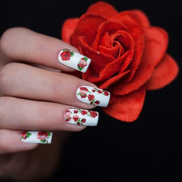 Декорация зз нокти с цветя