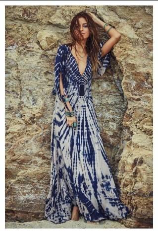 Стилна плажна рокля лято 2018