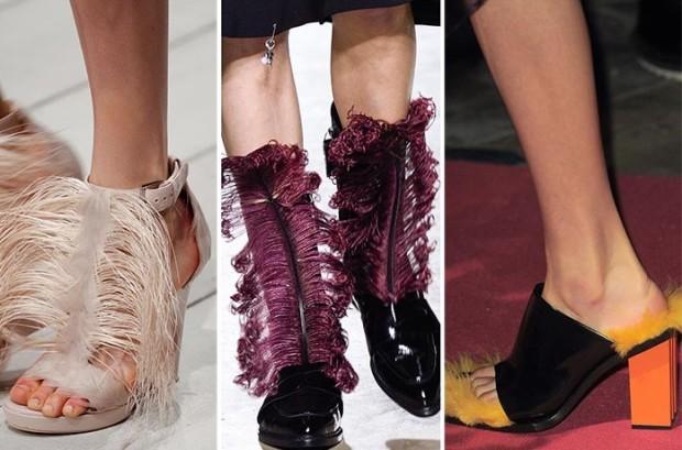 Обувки с пера есен 2018