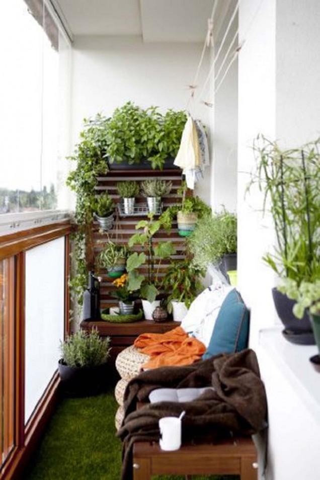 зелена тераса