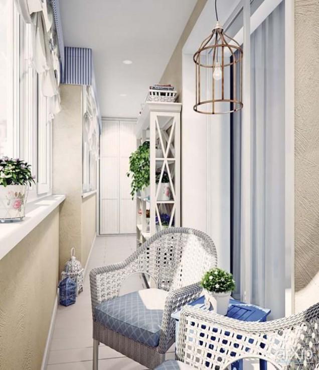 идеи за декорация на балкон 56