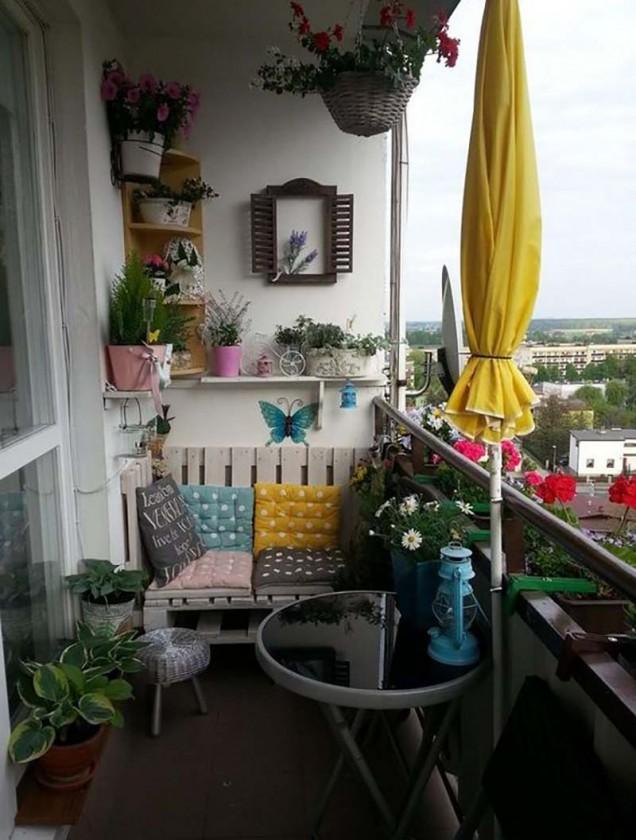обзавеждане на балкона