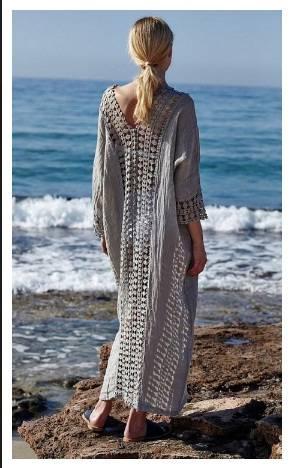 Плажна рокля лято 2018