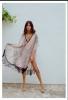 Плажна рокля с ресни лято 2018