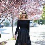 дълга пола в черно