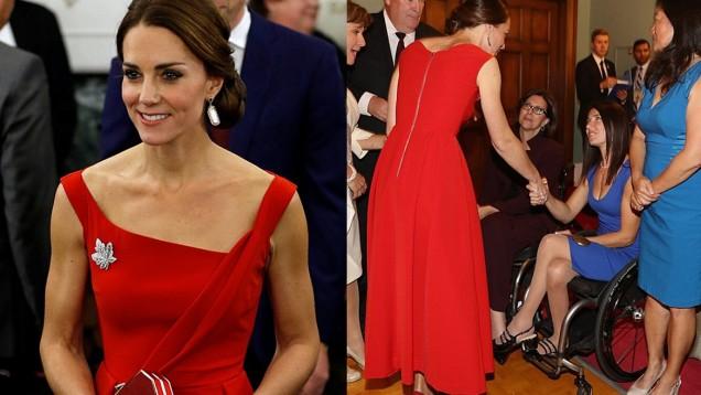 Червената рокля на Кейт
